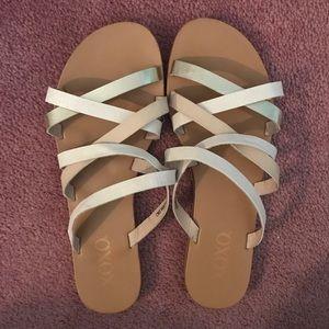 {XOXO} Strappy Sandals